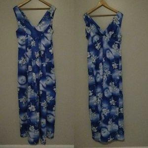 Vintage Hilo Hattie Plus Size Sundress